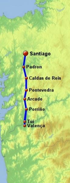 last 100 km - Camino de Santiago